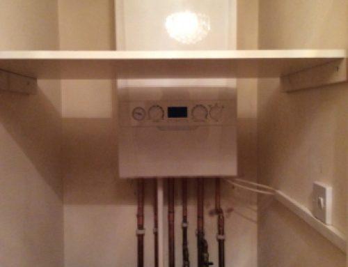 Domestic boiler installation in Torquay